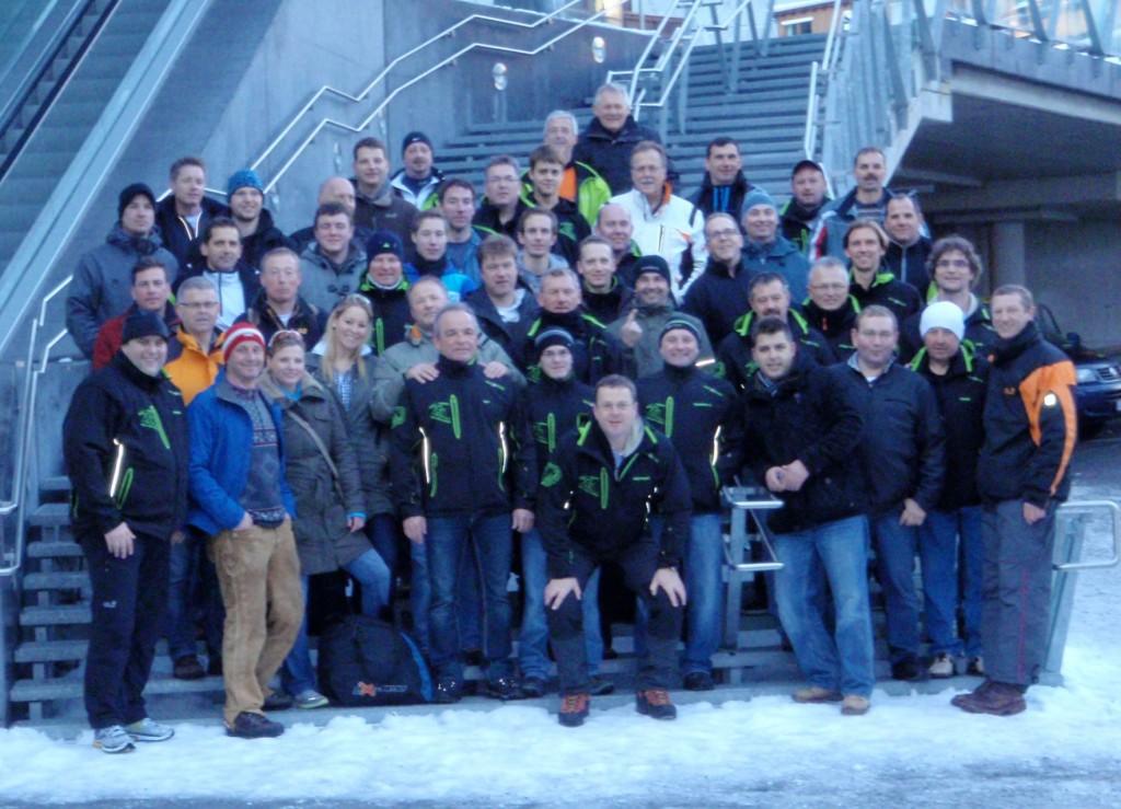 Busgruppe Skiopening 2011