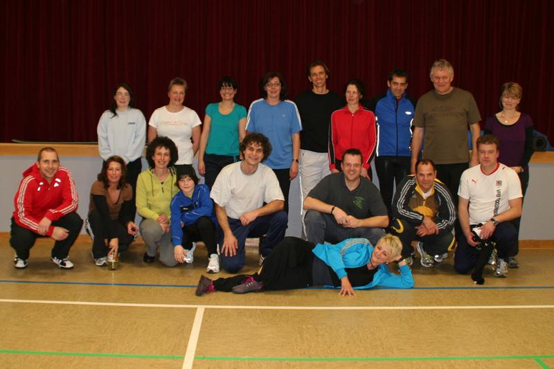 Teilnehmer Skigymnastik Skiteam Bellersheim